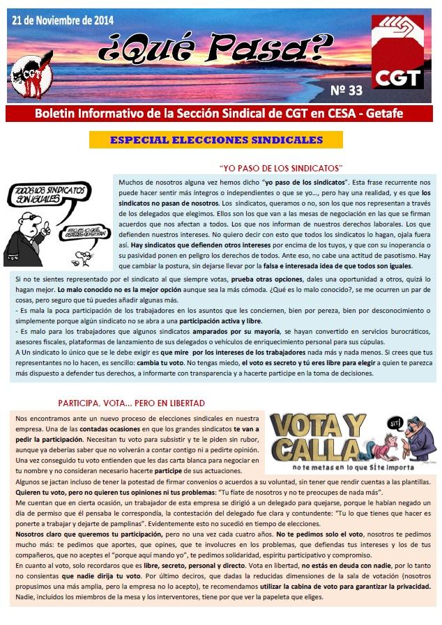 Nº33 Boletin CESA