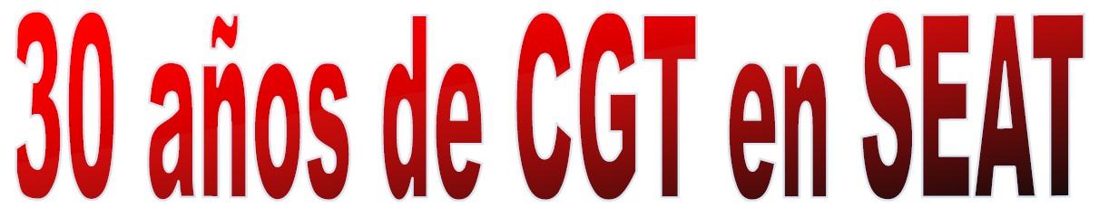 30 años CGT Seat titulo