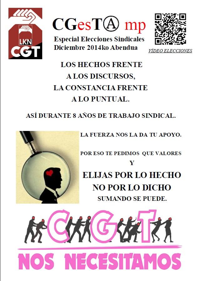 CGESTAMP elecciones sindicales 2014