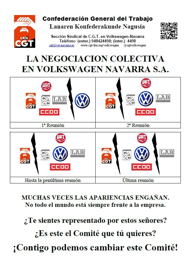la negociacion colectiva en VWna