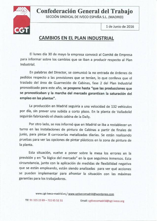 1 de junio (iveco Madrid)