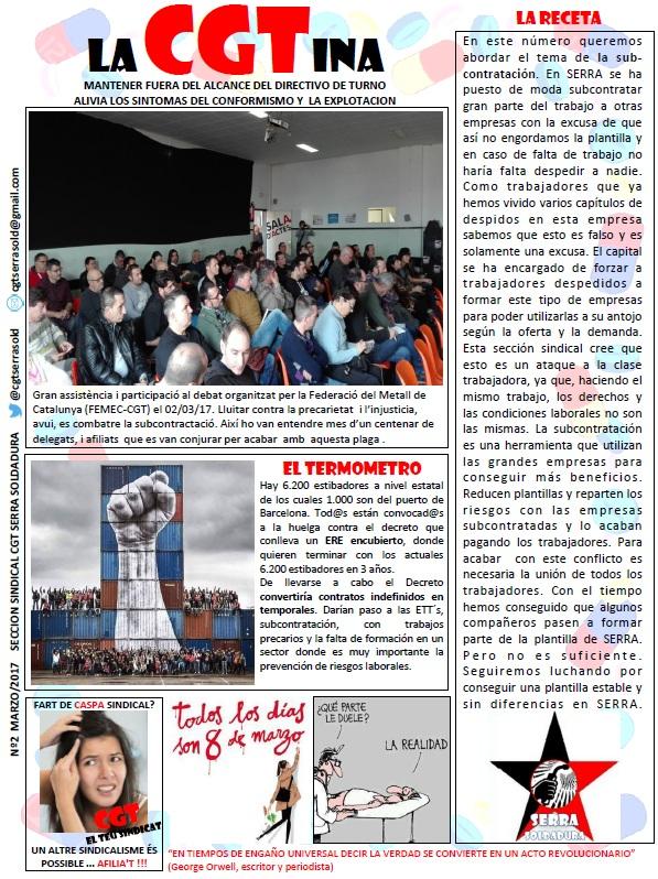 La CGTina Nº2 (Marzo 2017)