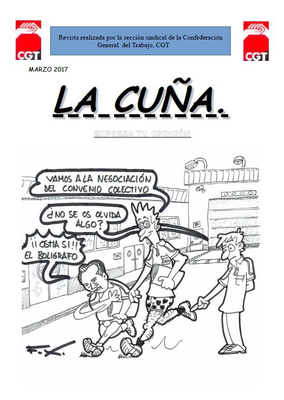 la cuña (CGT Iveco Valladolid)
