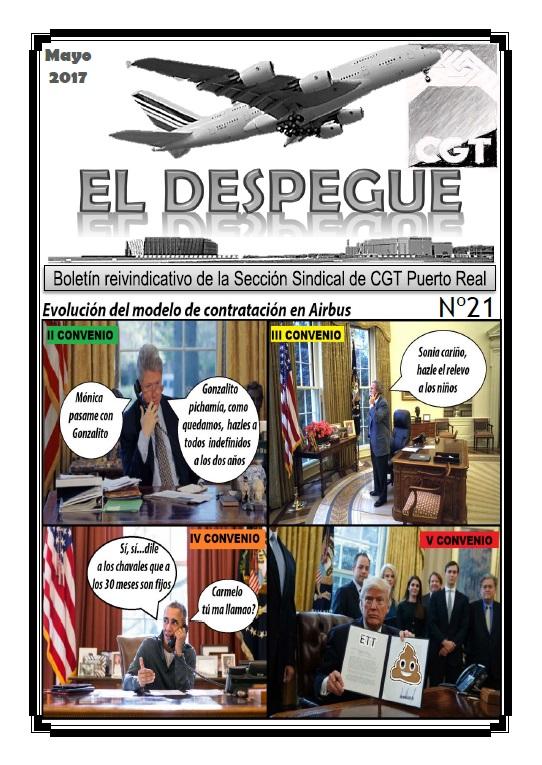 EL DESPEGUE 21 (Puerto Real)
