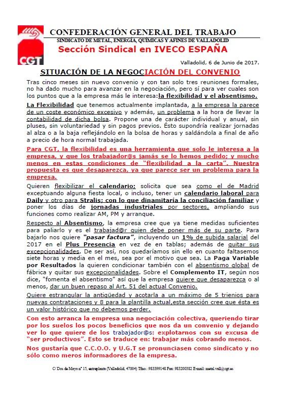 Iveco Valladlid 6 de junio (convenio)