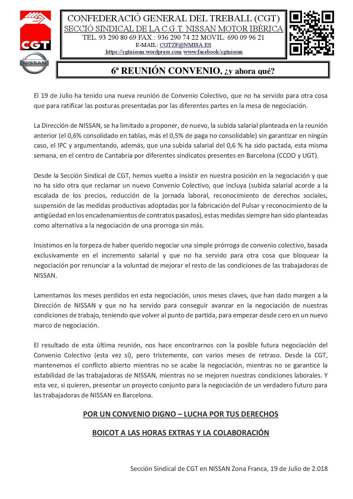 6º REUNIÓN CONVENIO COLECTIVO-001