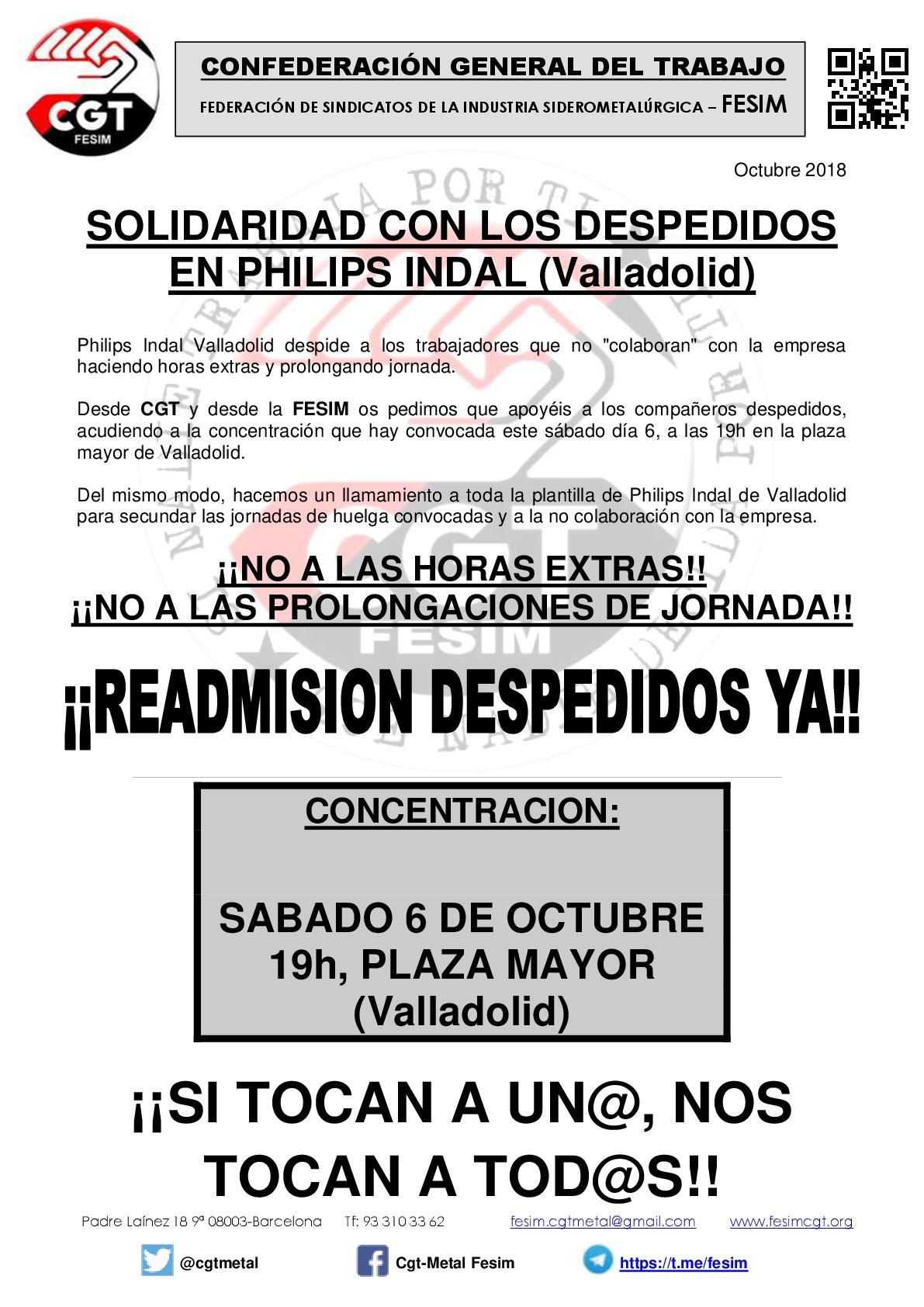 PHILIPS INDAL (Valladolid) despedidos-001(1)
