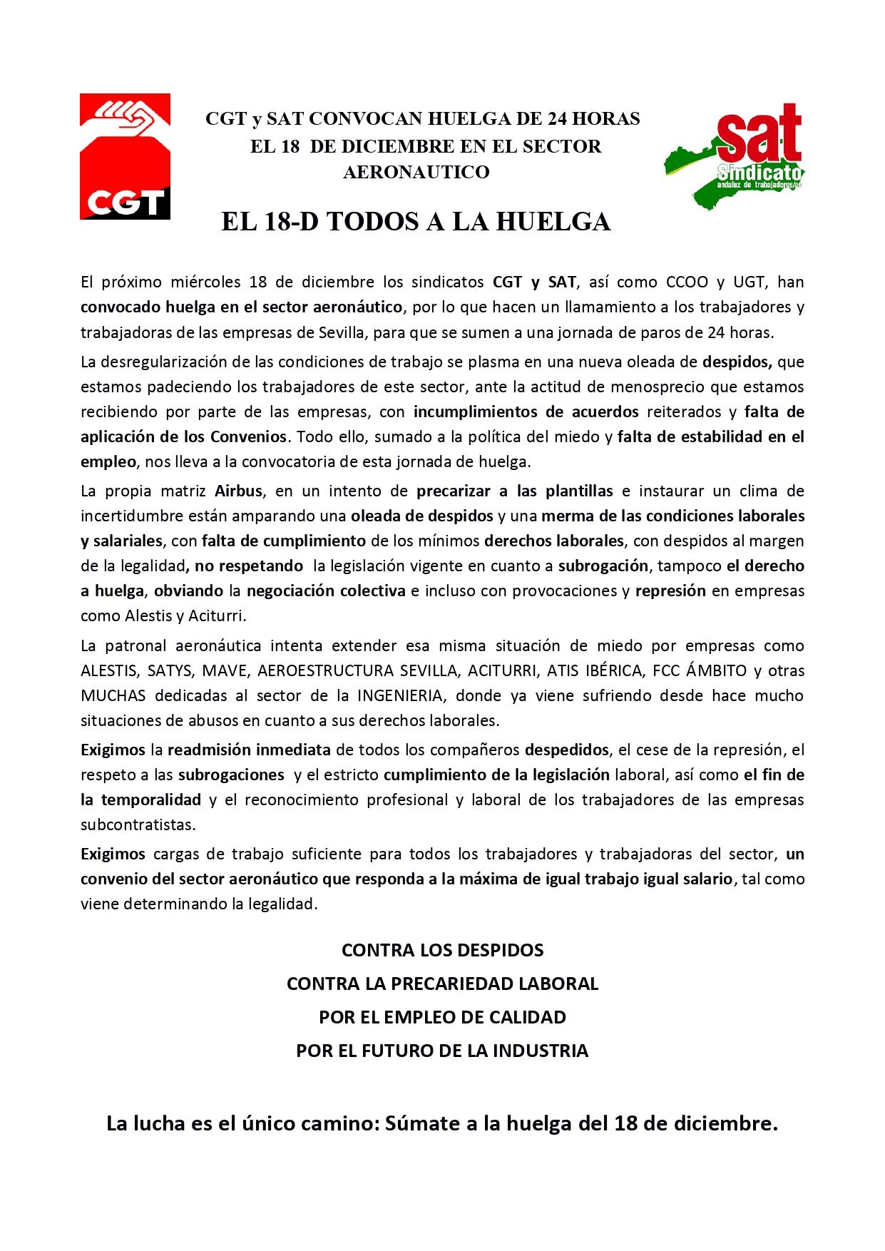 Comunicado huelga sector aeronáutico CGT SAT_page-0001