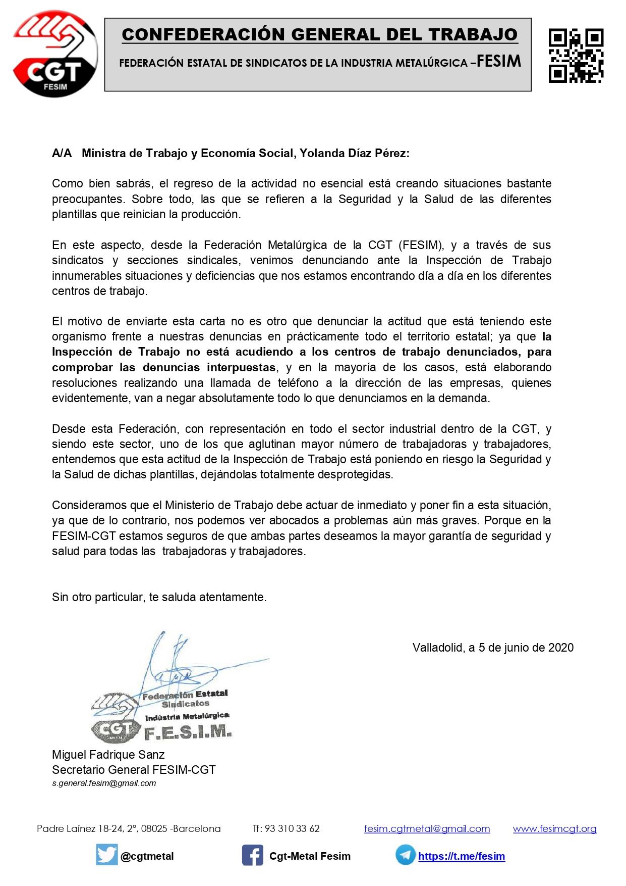 Carta a Yolanda Diaz 200605 Inspeccion de Trabajo_page-0001